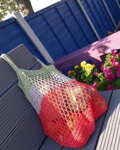 hobbycraft crochet mesh market bag patons mercerised cotton rico cotton
